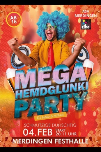 Hemdklunkiparty 2016